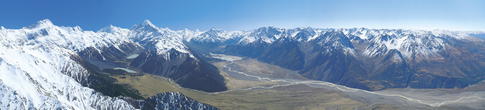 Aoraki Mt Cook panorama