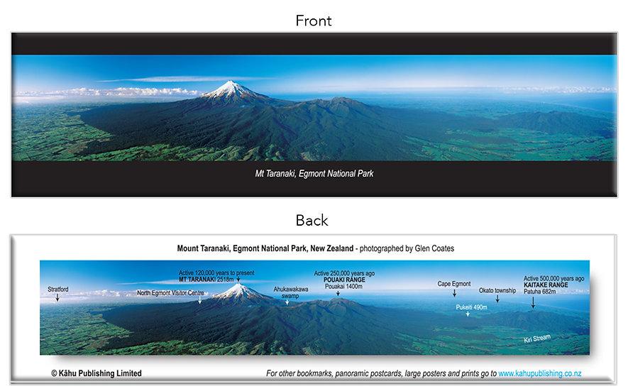 Egmont National Park, Mt Taranaki bookmark