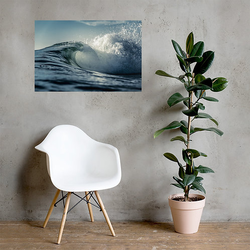 Water And Light - Photo paper poster