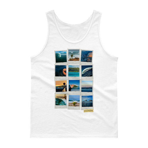 Damian Davila Polaroids Collage - Tank top