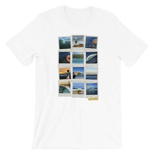 Damian Davila Photo Polaroid Collage - Short-Sleeve Unisex T-Shirt