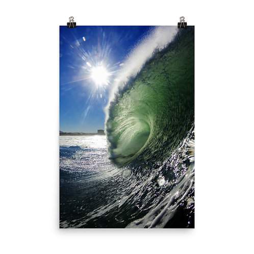The Green Room Photo paper poster