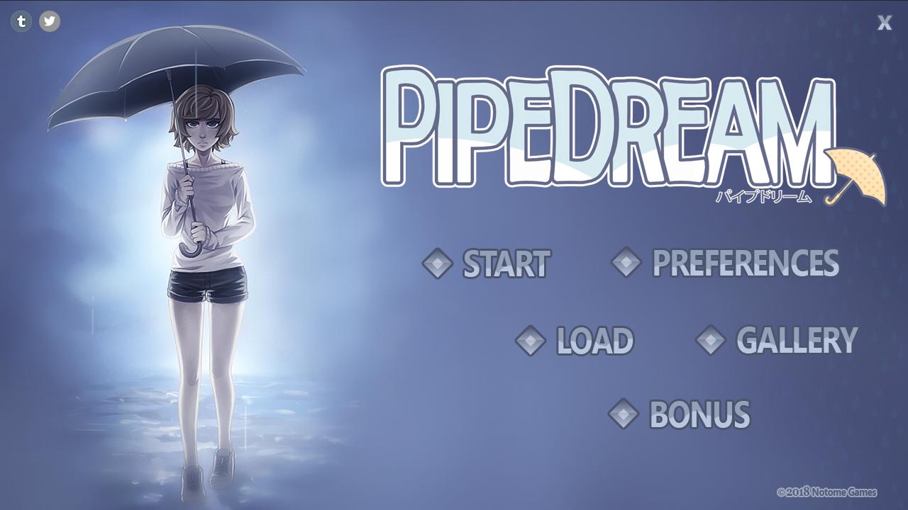 Pipe Dream title screen