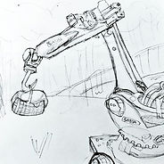 One of my robot arm sketches.