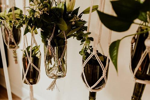 Upcycled Hanging Macrame Planter - Wholesale