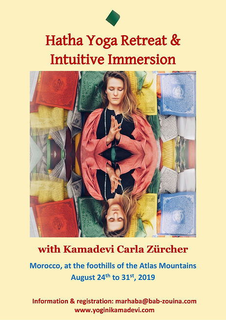Hatha Yoga & Intuitive Immersion august