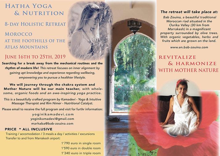 Yoga & Nutrition Retreat, BobZouina 2019