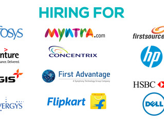 Looking for a Job right now? These companies are hiring..