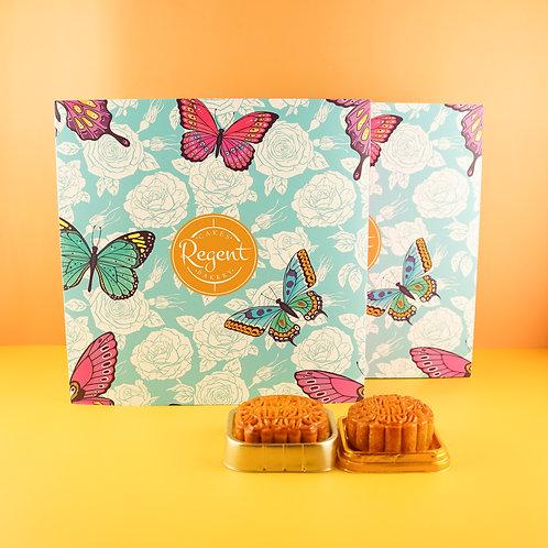 雙黃白蓮蓉月餅禮盒 White Lotus Seed 2 Yolk Moon Cake Gift Box