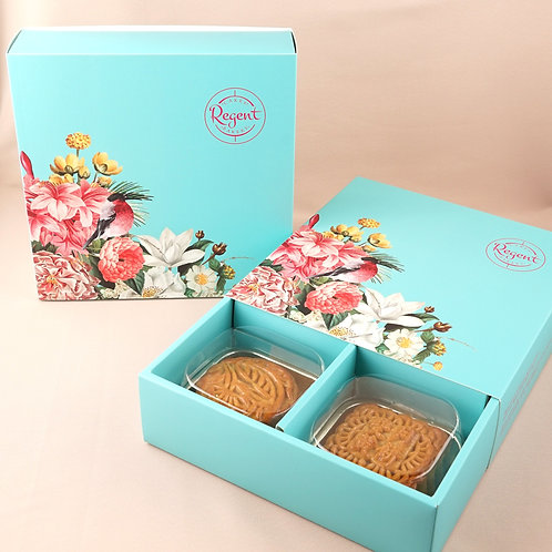 雙黃月餅禮盒 Double Yolk Moon Cake Gift Box