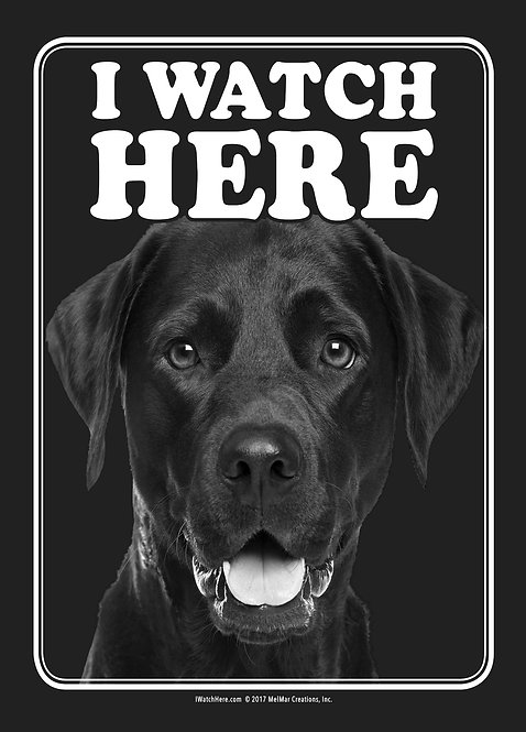 Labrador Retriever - Black (BW)