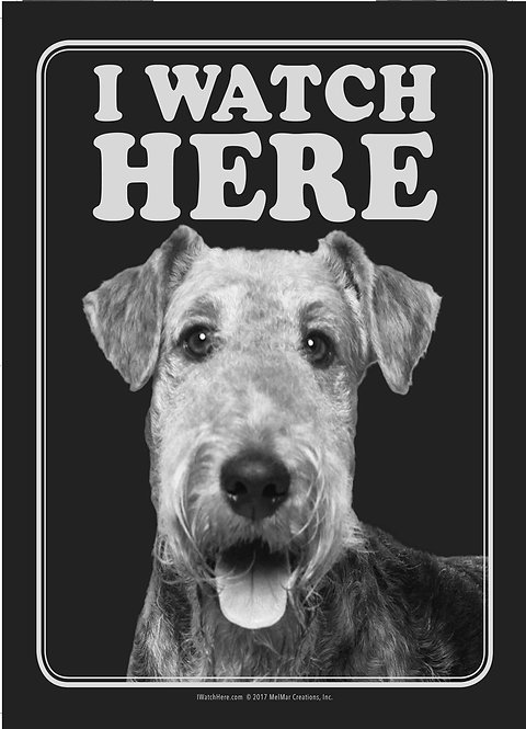 Airedale Terrier (BW)