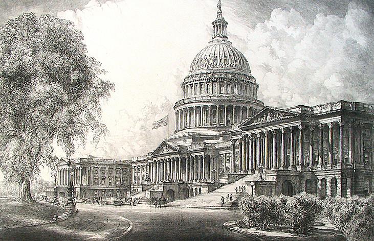 National Capitol Building, Washington, DC