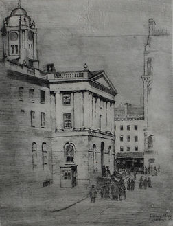 Hartford, CT, etching, 1903