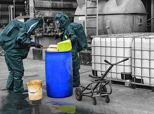 chemical spill pollution response team i