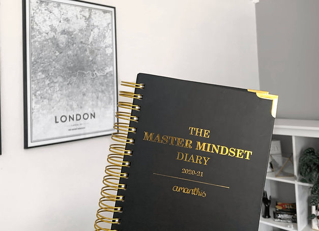 master mindset diary, against london desenio print, academic mid year planner 2020-2021