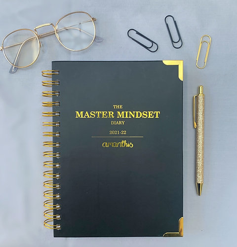 The Master Mindset Diary 2021-22- Classic Cover