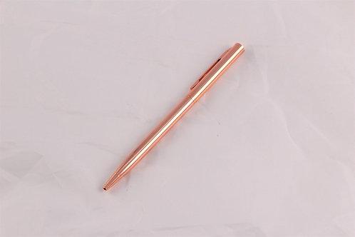 Rose Gold Ballpoint Pen