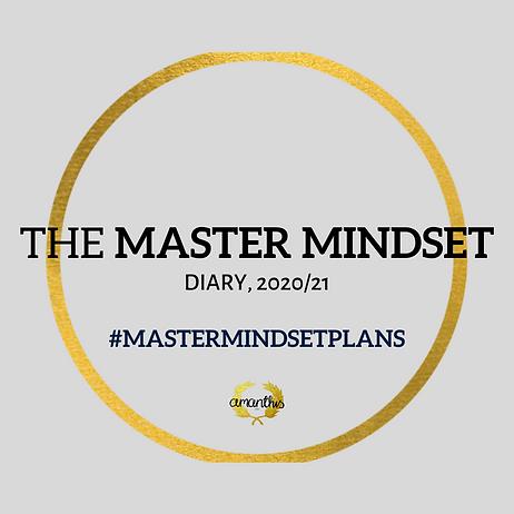 master mindset planner, mid year 2020/21