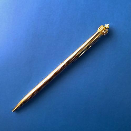 Gold Crown Ballpoint Pen