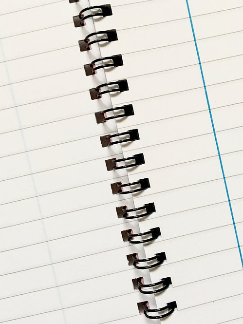 A5 Wirebound Notebook- Smile Often | Goal-Getter Range