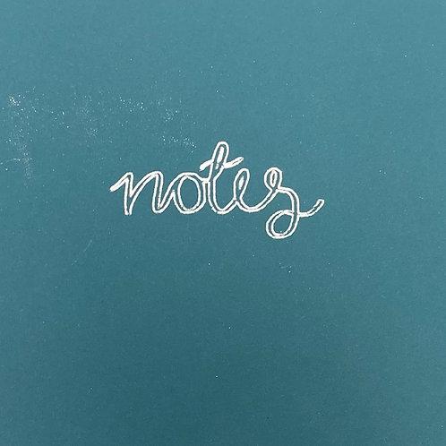 A5 Wirebound Notebook- Notes