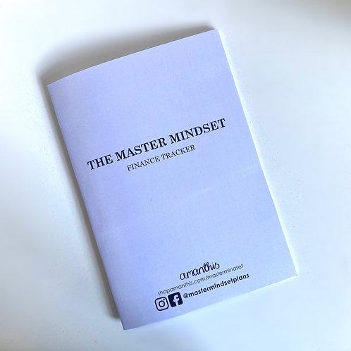 Undated Finance Tracker Booklet