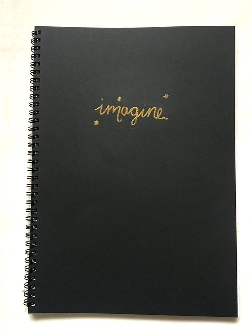 A4 Spiral Notebook- Imagine | Goal-Getter Range