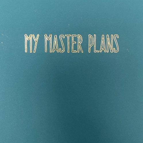 A5 Wirebound Notebook- My Master Plans