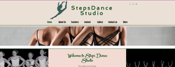 Steps Dance Studio Homepage