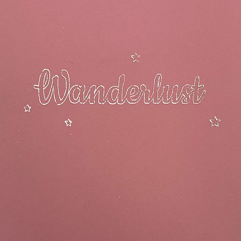 A5 Wirebound Notebook- Wanderlust
