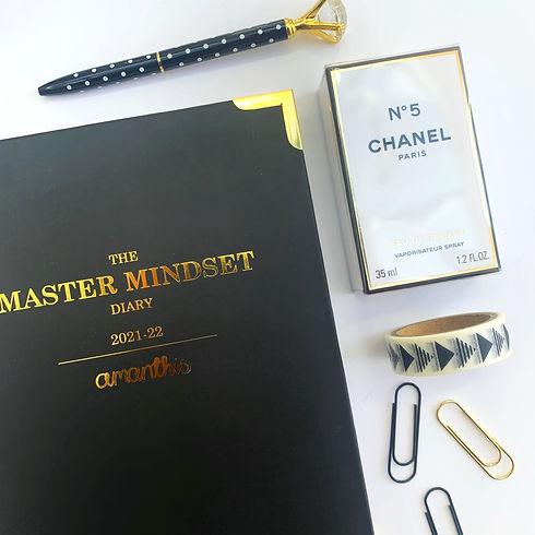 CLASSIC PLANNER FLATLAY, MASTER MINDSET