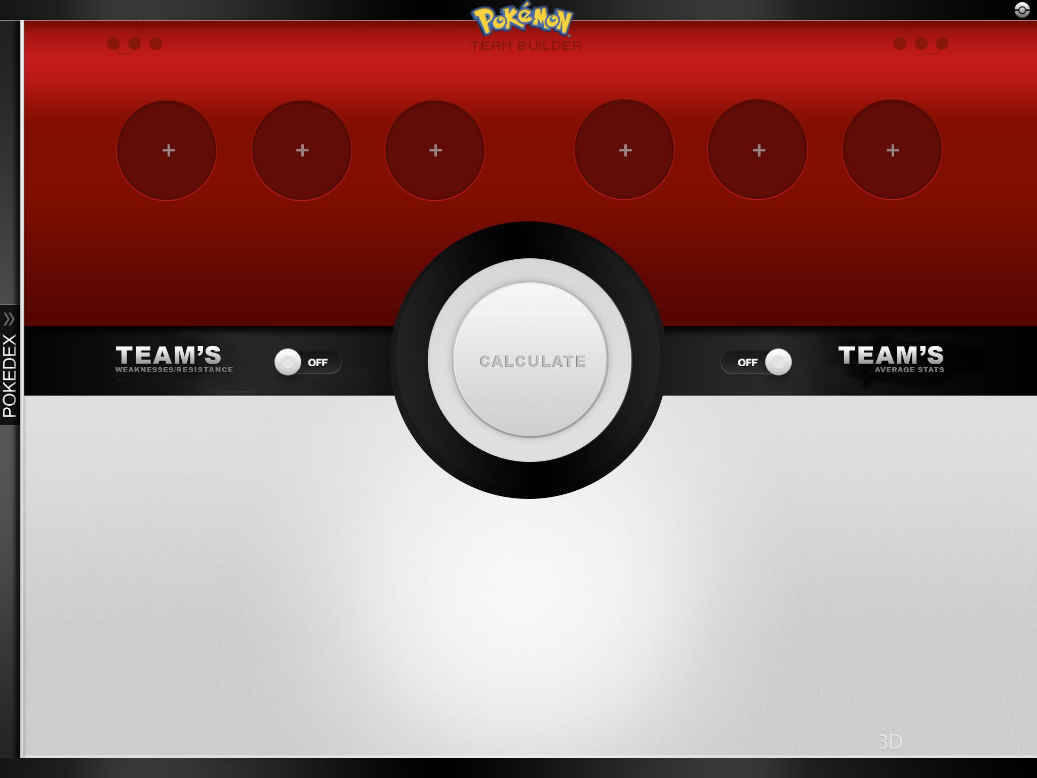 Pokemon TeamBuilder App