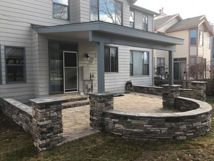 hardscape Patio and Seating