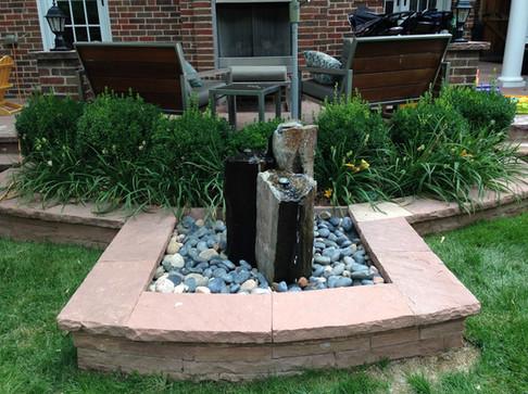 Fountain and Hardscape