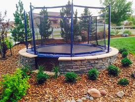 Landscaping with Trampoline