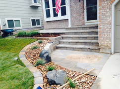 Hardscape for Front Porch