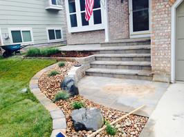 Hardscape for Front Porch