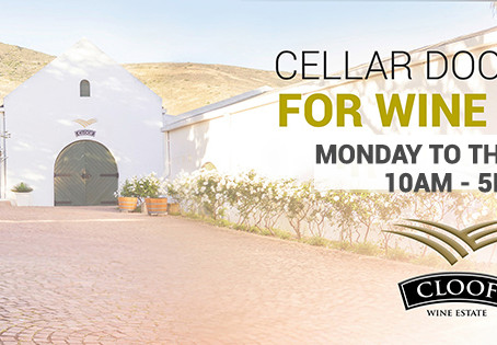 CLOOF ONLINE STORE AND CELLAR DOOR OPEN FOR SALES!
