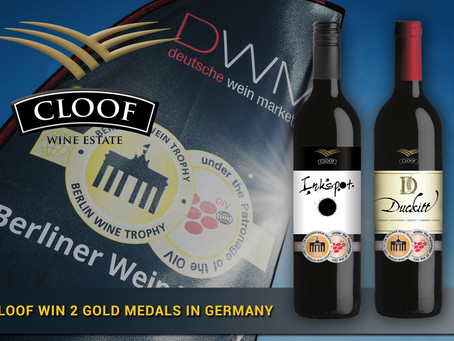 Cloof win 2 Gold Medals in Germany!
