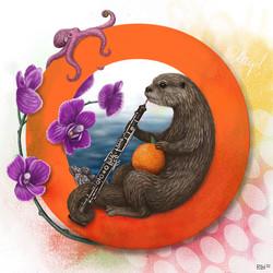 Ophelia the Otter