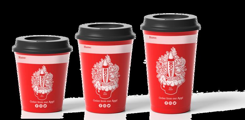 Coffee Cups- S,M,L