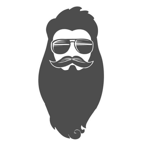 Badass Beard Icon