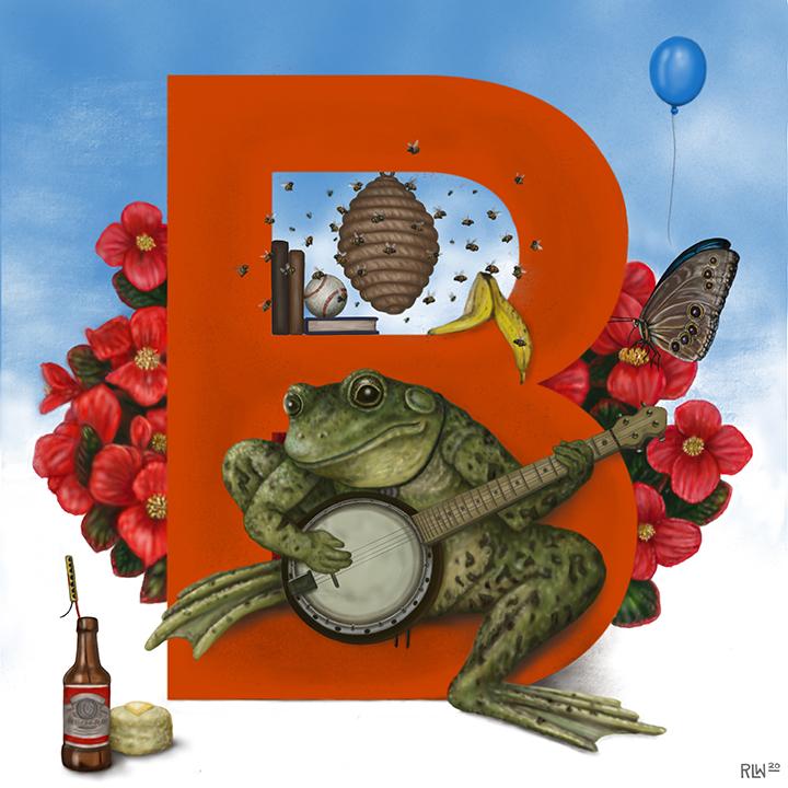 Bernie the Bullfrog