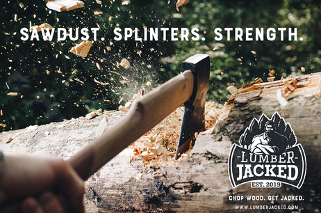 Lumber Jacked Brand Ad 2