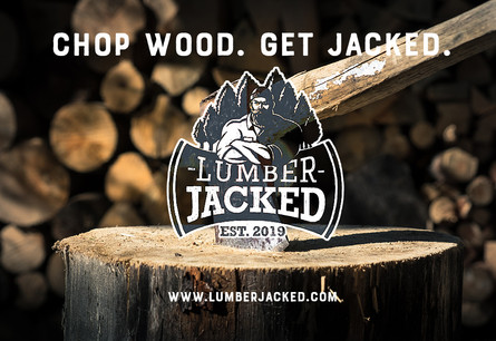 Lumber Jacked brand ad 1