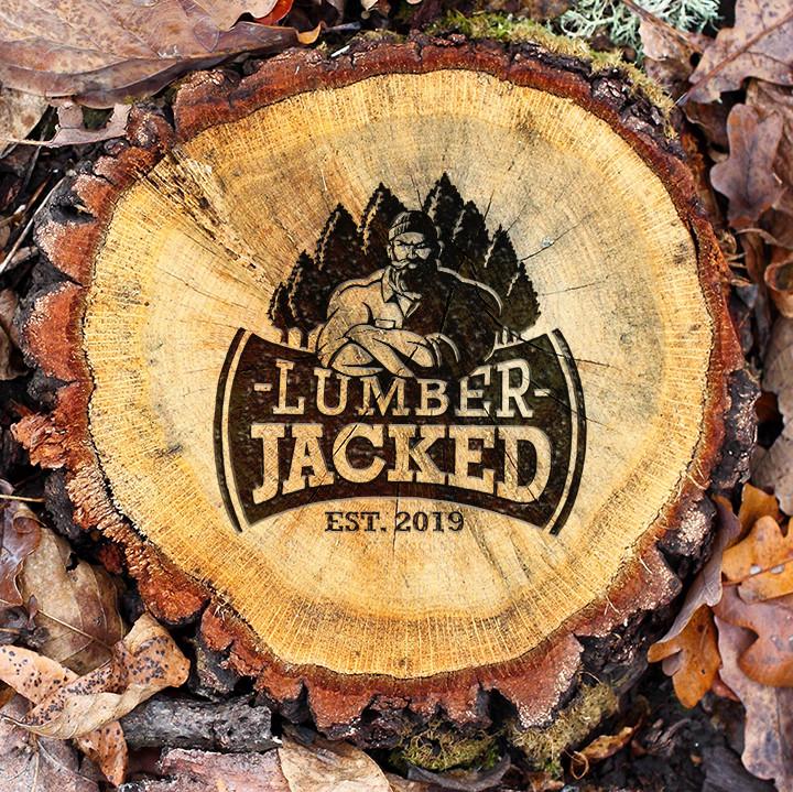 Lumber Jacked Logo Design