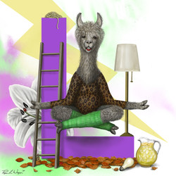 Laverne the Llama