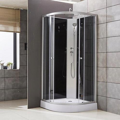 Cabine de douche complète 90x90