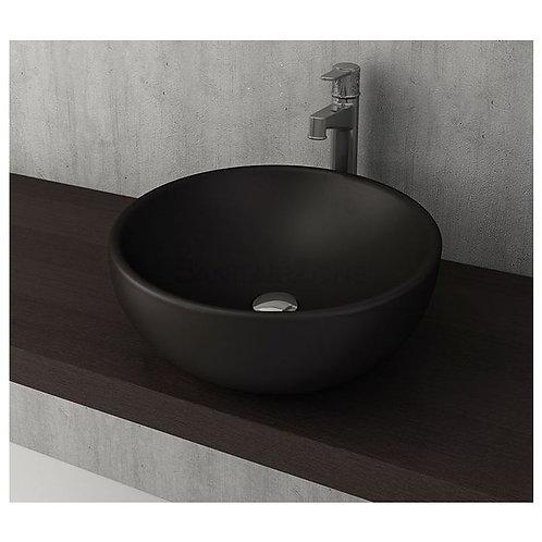 Vasque à poser noir mat 45cm